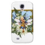 Summer Daisy Blue Fae Samsung Galaxy S4 Cases