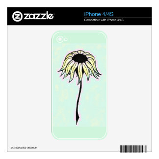 Summer Daisy Decal For The iPhone 4S
