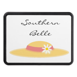 Summer Daisy Hat Southern Belle Cartoon Tow Hitch Covers