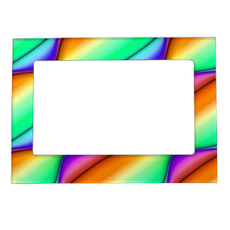Summer Day Abstract Magnetic Frames