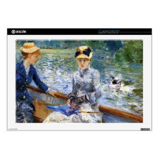 "Summer day by Pierre Renoir 17"" Laptop Skin"