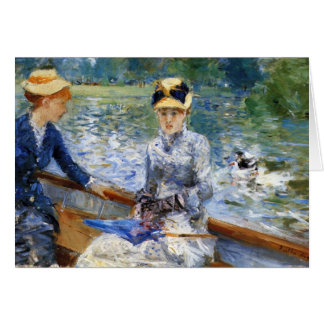 Summer day by Pierre Renoir Greeting Card