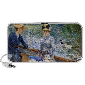 Summer day by Pierre Renoir Laptop Speakers