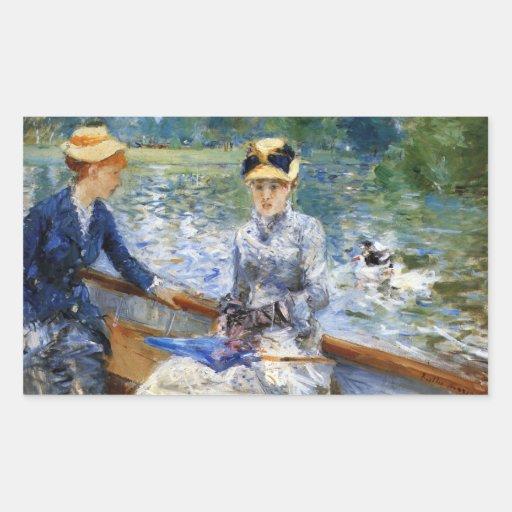 Summer day by Pierre Renoir Stickers