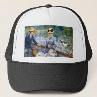 Summer day by Pierre Renoir Trucker Hat