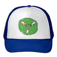 Summer Day Corgi Trio Hat