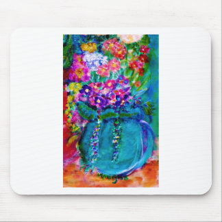 Summer Day Designer Floral Art Gift Collection Mouse Pad