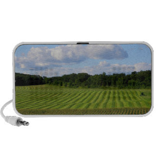 Summer day farmer out in the field Minnesota photo Mp3 Speaker