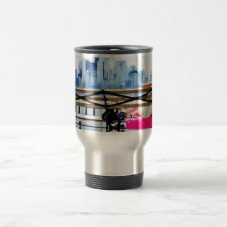 Summer day, Lower Manhattan Travel/Commuter Mug
