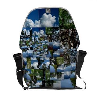 Summer day Medium Messenger Bag