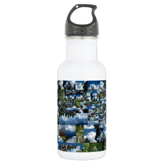 Summer day water bottle
