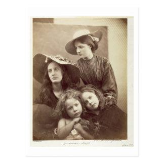 Summer Days, c.1866 (albumen print from a collodio Postcard