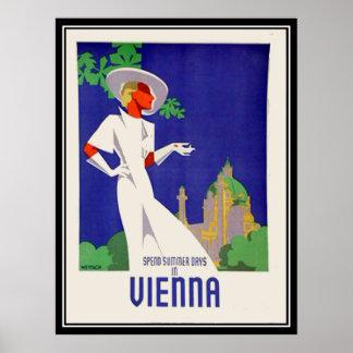 Summer days in Vienna Print Posters