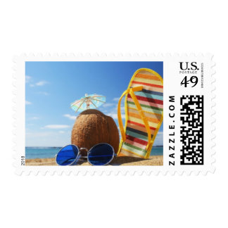 Summer Days Postage Stamps