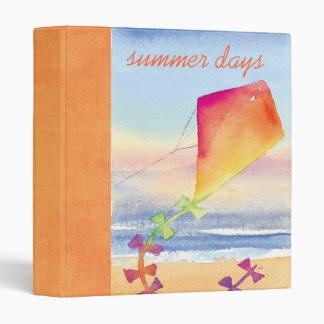 summer days scrapbook vinyl binder