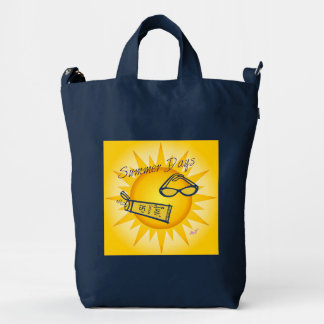 Summer Days Sunshine Indigo BAGGU Duck Bag Duck Canvas Bag