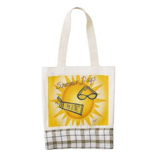 Summer Days Sunshine Zazzle Heart Tote Zazzle HEART Tote Bag