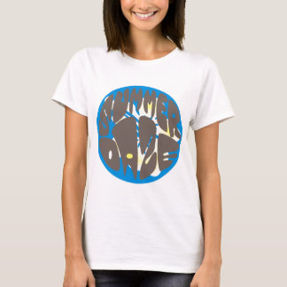 Summer Daze Blue Hibiscus T-Shirt