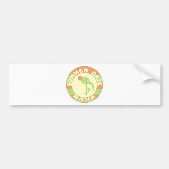 Summer Daze Bumper Sticker