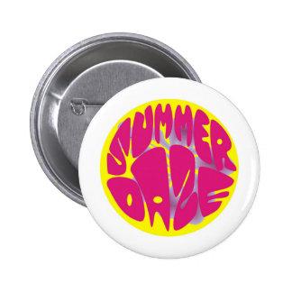 Summer Daze Hibiscus Pinback Buttons