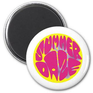 Summer Daze Hibiscus Magnet