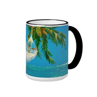 Summer Daze Ringer Coffee Mug