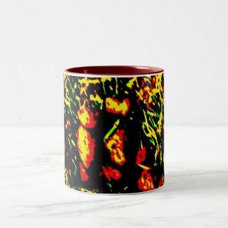 summer daze Two-Tone coffee mug