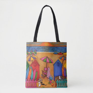 Beach Themed Summer Delight Beach Bag by Lisa Lorenz