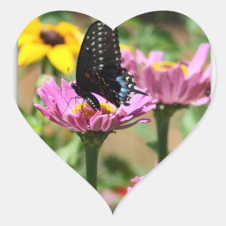 Summer Delight Heart Sticker