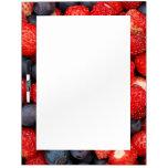 summer delights dry erase white board