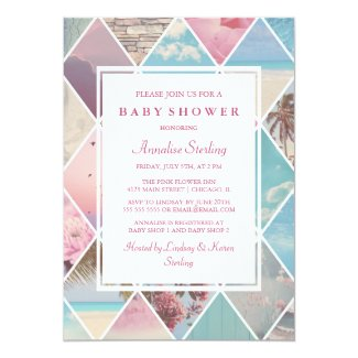 Summer Diamonds | Baby Shower Card