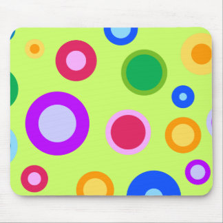 Summer Dots Mouse Pad
