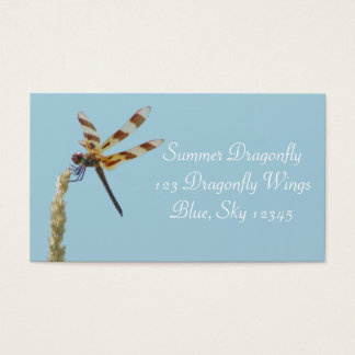 Summer Dragonfly Business Card