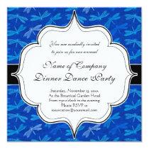 Summer Dragonfly Royal Blue Nature Lover Card