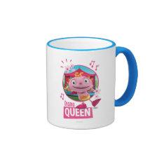 Summer - Drama Queen Ringer Coffee Mug at Zazzle