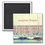 Summer Dream Fridge Magnet