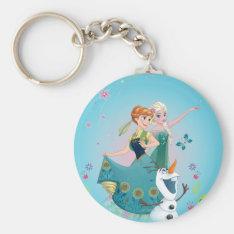 Summer Dreams Basic Round Button Keychain at Zazzle