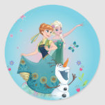 Summer Dreams Classic Round Sticker