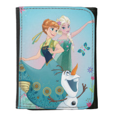 Summer Dreams Leather Trifold Wallets at Zazzle