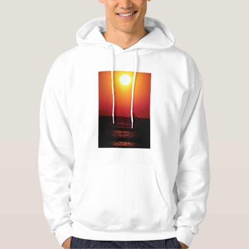 Summer dreams, sailing off the coast of southern C Hooded Pullover