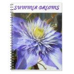 summer dreams spiral note book