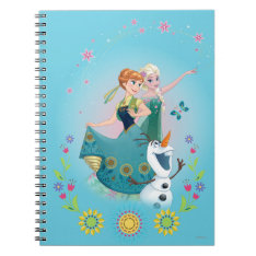 Summer Dreams Spiral Note Book at Zazzle