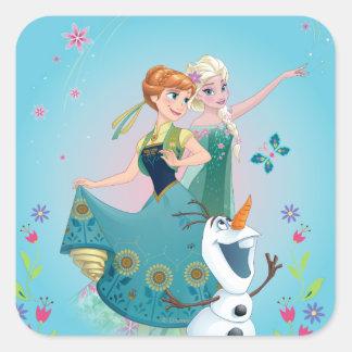 Summer Dreams Square Sticker