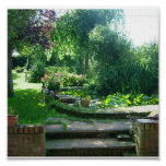 Summer English Garden Print