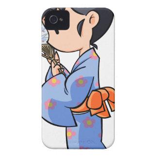 Summer English story Tateyama Chiba Yuru-chara iPhone 4 Case-Mate Case