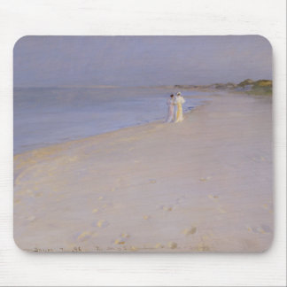 Summer evening at the South Beach, Skagen, 1893 Mouse Pad