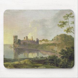 Summer Evening (Caernarvon Castle) c.1764-65 (oil Mouse Pad