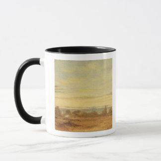 Summer - Evening Landscape (oil on canvas) Mug