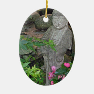 Summer Evening Light on Guanyin Ceramic Ornament