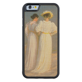Summer Evening on the Skagen Southern Beach 2 Carved Maple iPhone 6 Bumper Case